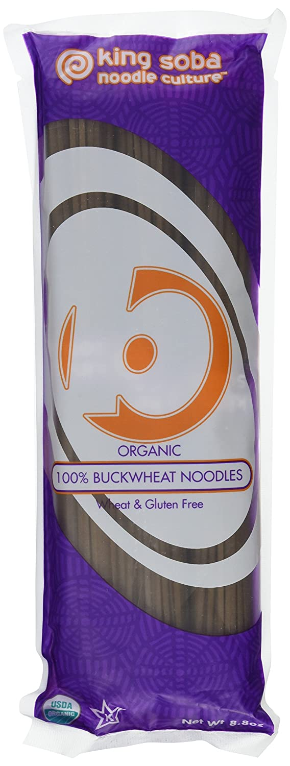 King Soba Shipping included 3-PACK Gluten Free Noodl Organic Pasta Buckwheat 100% Max 51% OFF