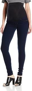 Women's Twiggy Maternity External Band Skinny Jean in 8767 Dark