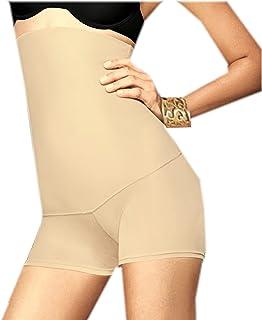 Flexees Women's Shapewear No Slip Hi Waist Firm Control Boyshort