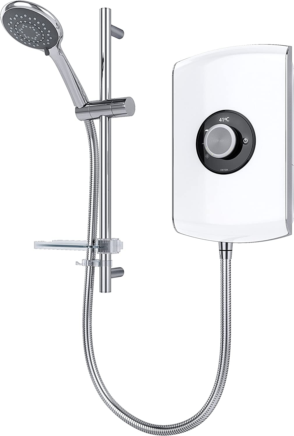 Triton Max 67% OFF Showers REAMO8GSWHT Amore Ranking TOP17 Slender Shower Electric White