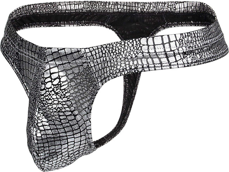 2021 Mens Long Pouch Hollow Underwear G-String Thong Sexy Undies Bikini T-Pants