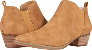 Report Women's Bootie Ankle Boot, Tan, 8