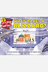 What Makes a Blizzard? (Let's-Read-and-Find-Out Science 2) Kindle Edition