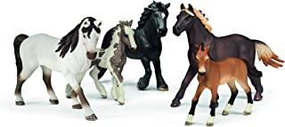 Schleich 5 Horses Collectors Pack Figurine Toys, Multicolor