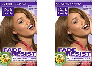 Dark and Lovely Hair Color SunKiss Brown 1Kit (Pack of 2)