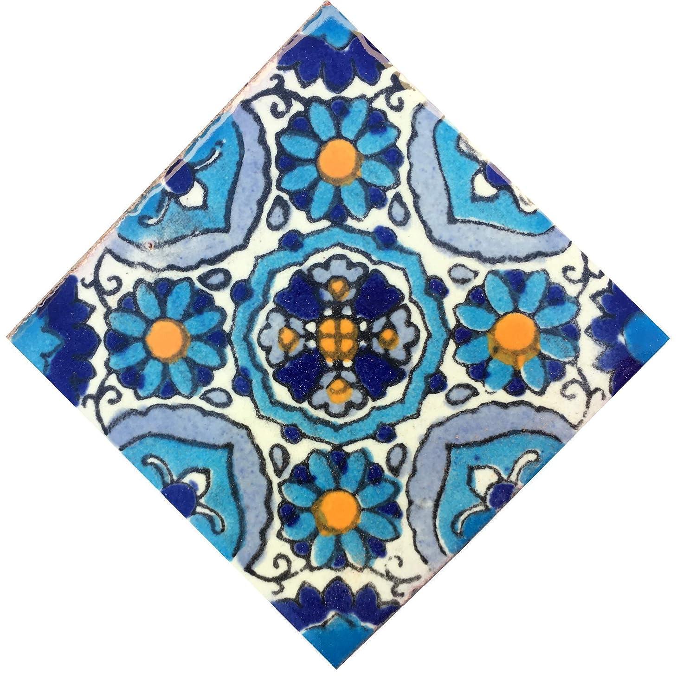 Mexican Tile Magnet Talavera Sale price price 2 Fridge inch