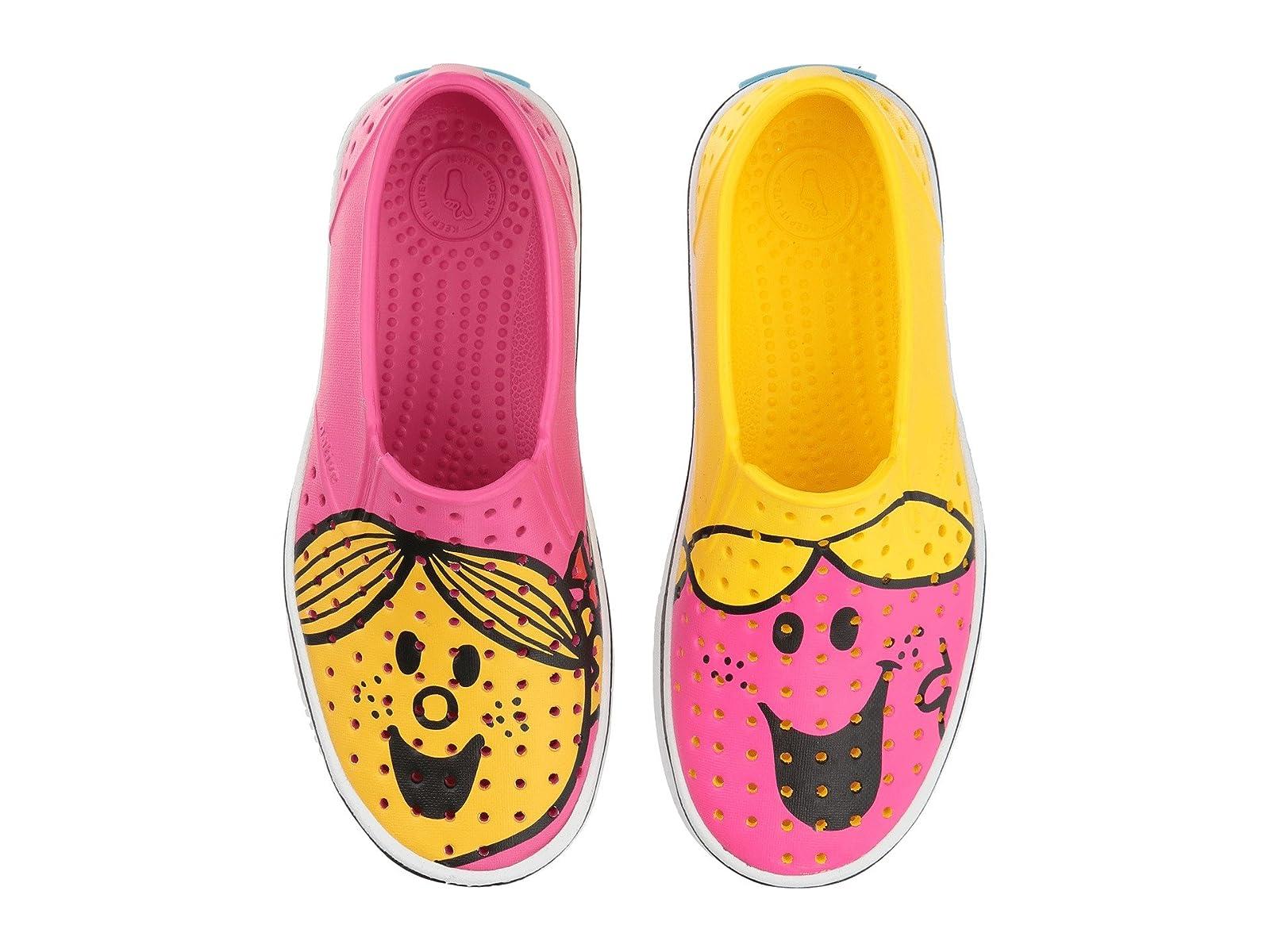 Native Sunshine Kids Shoes Little Miss Chatterbox & Sunshine Native Miles Print (Little Kid) 3d8024