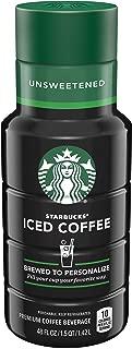 Starbucks Unsweetened Iced Coffee, 48 oz