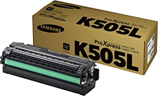 Samsung CLT-K505L Toner Cartridge for C2620DW/C2670FW, Black
