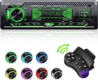 CENXINY Radio Coche Bluetooth, 1 DIN Universal 4X65W Autoradio Bluetooth Manos Libres Incorporado Micrófono Bluetooth 5.0,...
