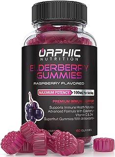 Elderberry Zinc & Vitamin C Gummies - Immune System Support - Premium Antioxidant Formula for Men, Women and Kids - Best S...