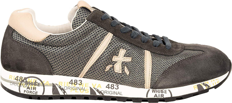 PREMIATA Man skor skor skor grå with vit Sole Lucy 3210  välkommen att köpa