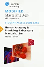 Modified Mastering A&P with Pearson eText -- Standalone Access Card -- for Human Anatomy & Physiology Laboratory Manuals (13th Edition)