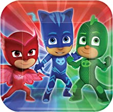 PJ MASK Party Supplies 24 Pack Lunch Plates AMZ ONLY