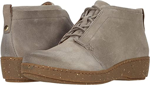 Taupe Burnished Suede