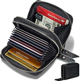 女式真皮 RFID *宽敞可爱拉链卡钱包小钱包……