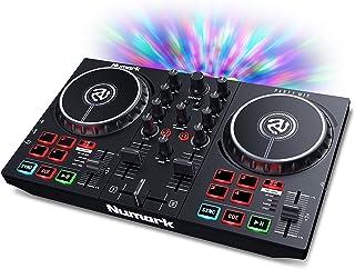 Numark Party Mix II - DJ Controller/DJ Set for Beginners with Built-In DJ Lights & DJ Mixer for Serato DJ Lite and Algorid...
