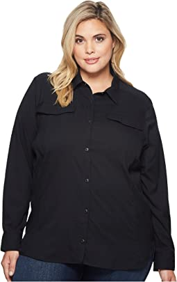 Plus Size Silver Ridge Lite Long Sleeve Shirt