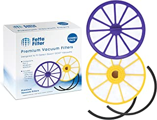 Fette Filter - Pre-Motor Filter & Post-Motor HEPA Filter Compatible with Dyson DC07. Compare to Part # 901420-02 & 904979-02 - Combo Pack