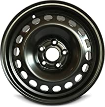 Road Ready Car Wheel For 2012-2016 Chevrolet Sonic 15 Inch 5 Lug Black Steel Rim Fits R15 Tire - Exact OEM Replacement - Full-Size Spare