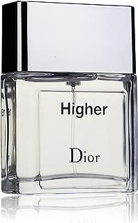 Christian Dior Higher Eau de Toilette Spray for Men, 1.7 Ounce