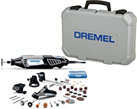 Dremel 4000-4/34 Variable Speed Rotary Tool Kit - Engraver, Polisher, and Sander- Perfect for Cutting, Detail Sanding, Engraving, Wood Carving, and Polishing- 4 Attachments & 34 Accessories