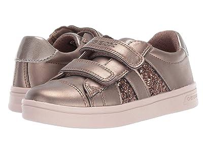 Geox Kids Jr Djrock 35 (Little Kid) (Medium Grey) Girls Shoes