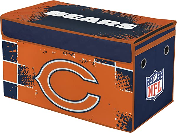 Idea Nuova NFL Chicago Bears Collapsible Storage Trunk