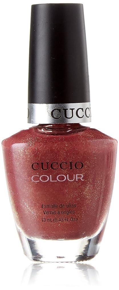 間隔いつも蒸気Cuccio Colour Gloss Lacquer - Blush Hour - 0.43oz / 13ml