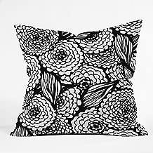 Deny Designs Julia Da Rocha Bouquet Of Flowers Love Throw Pillow, 16 x 16