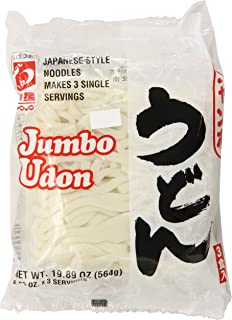 Myojo Jumbo Udon Noodles, No Soup, 19.89 Ounce (Pack of 2)