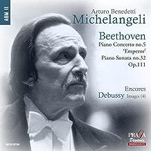 Beethoven: Piano Concerto No.5, Piano Sonata Op.111; Debussy: Images