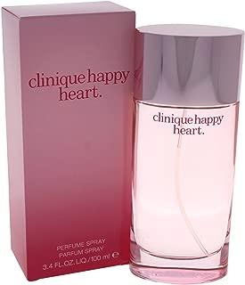 Clinique Happy Heart Parfum Spray for Women, 3.4 Ounce