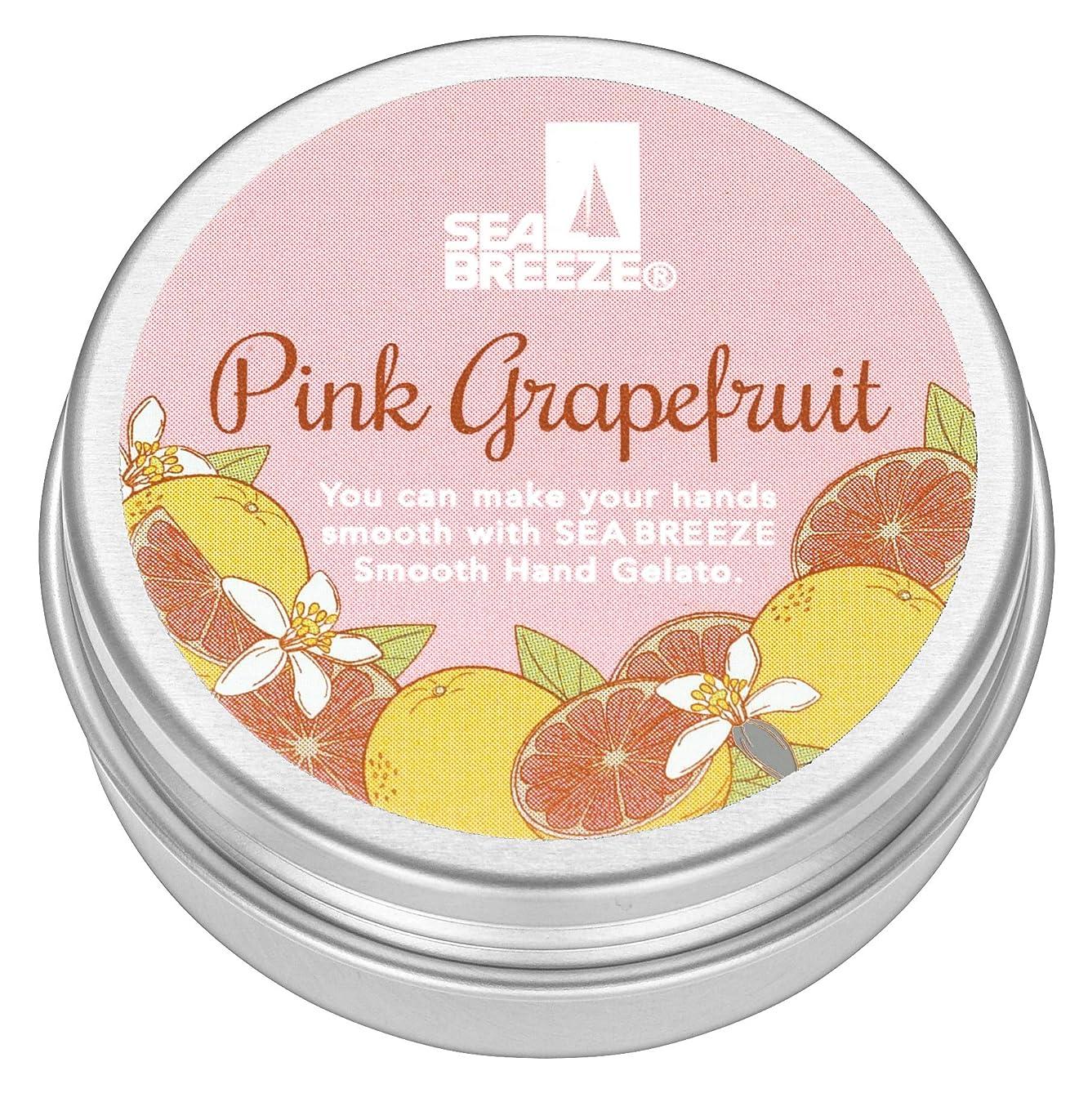 リーク松の木ガチョウシーブリーズ スムースハンドジェラート ピンクグレープフルーツ 18g