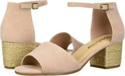 Blush Kid Suede Leather
