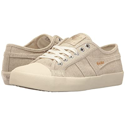 Gola Coaster Linen (Oatmeal/Off-White) Women
