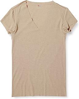 [グンゼ] インナー YG 清涼CUT OFFシリーズ VネックTシャツ 脇パッド付 短袖深V YV1912 メンズ