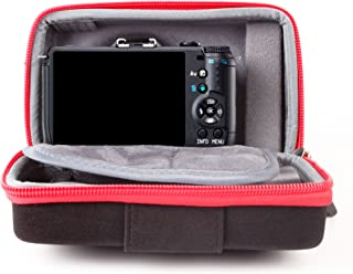 Black and Gray Q Mirrorless Digital Cameras and Mini Tripod and Screen Protector Q7 Q10 VanGoddy Sparta Travel Backpack for Pentax Q S1