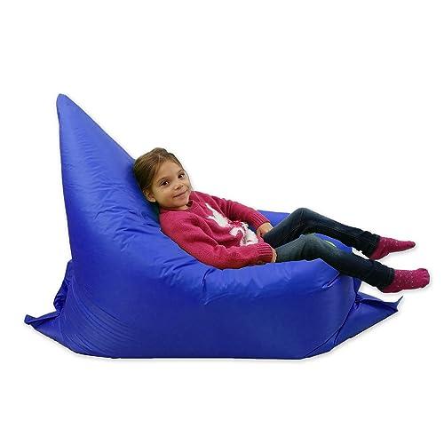 MaxiBean Kids BeanBag Large 6-Way Garden Lounger - GIANT Childrens Bean Bags  Outdoor Floor bc9c18c764cd9