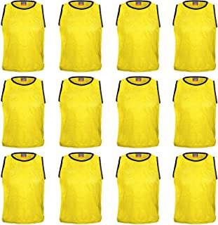 Sarson Sports USA, Inc Scrimmage Training Vests Soccer, Football, Rugby Bibs- Pack of 6