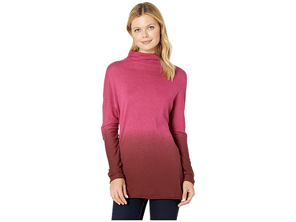 NIC+ZOE Traveler Turtleneck (Radish) Women