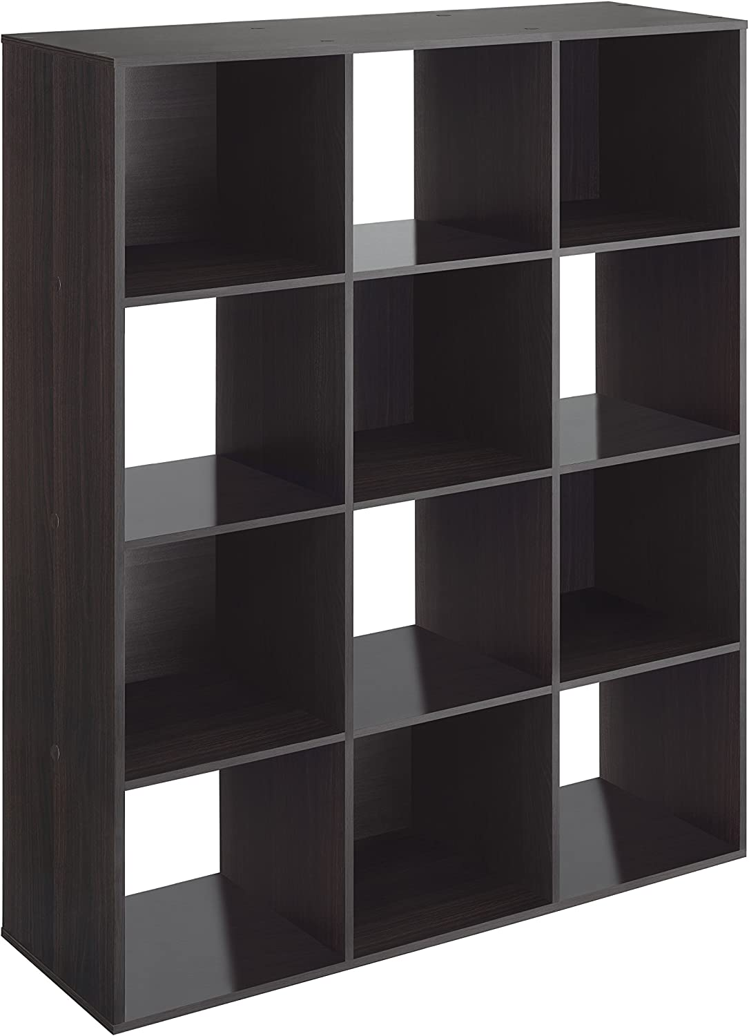 Whitmor 12 Cube Organizer famous Espresso New products world's highest quality popular -