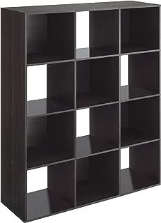 Whitmor 12 Cube Organizer - Espresso