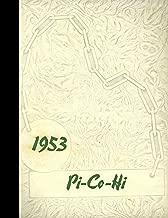 (Reprint) 1953 Yearbook: Pickens County High School, Reform, Alabama