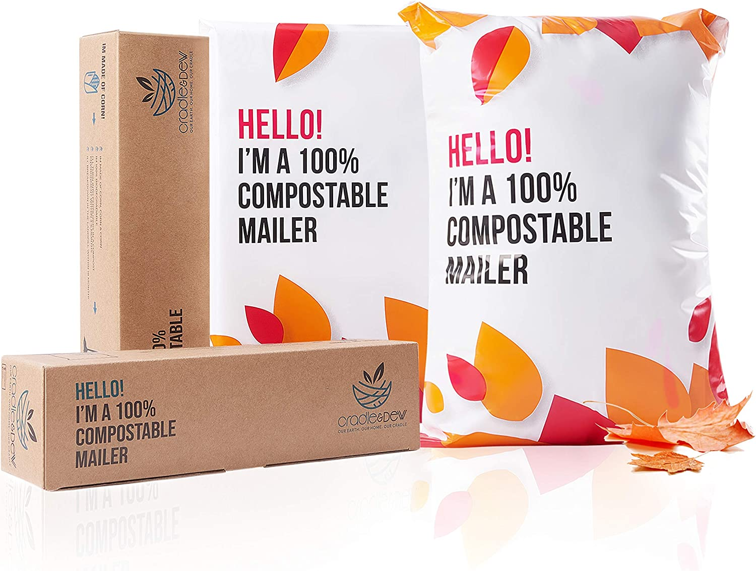 Complete Free Shipping 100% Compostable Biodegradable Mailers - Max 41% OFF 13