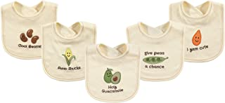 Touched by Nature Unisex Baby Organic Cotton Bibs