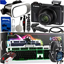 Professional PC & VR Gaming, Vlogging & Streaming Bundle - Includes: Canon PowerShot G7 X Mark III Digital Camera + Marvo ...