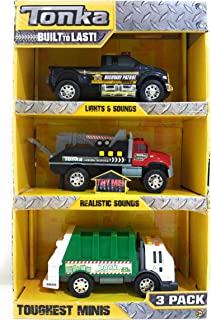 Tonka Toughest Minis Lights & Sounds 3 Pack #1