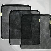 AquaCity Aquarium Filter Media Bags for Pellet Carbon, Bio Balls, Ceramic Rings, Ammonia Remover (17