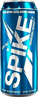 Spike Hardcore Energy Blue Raz - 24 (16 oz)